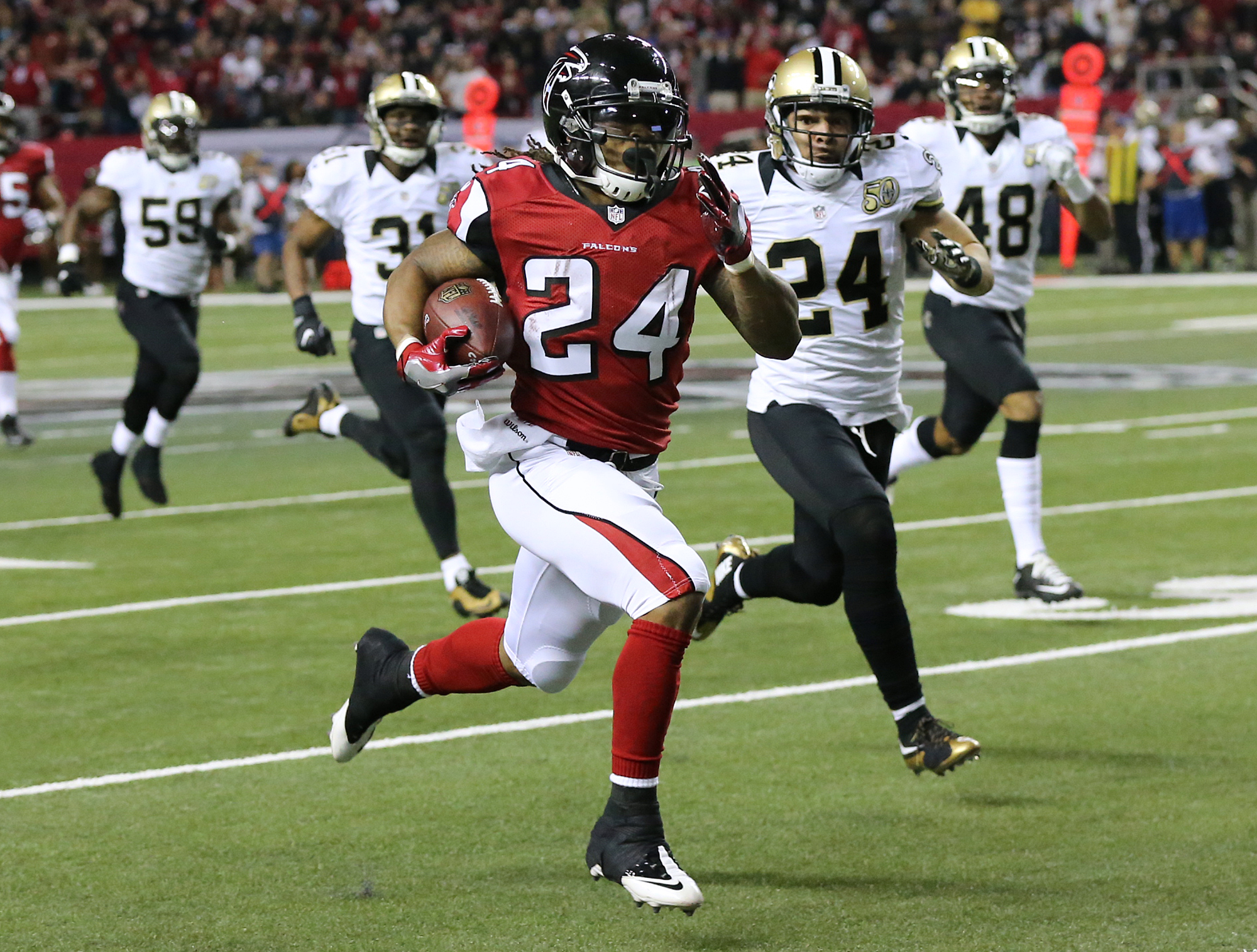 Running back duo is key to Atlanta Falcons prolific offense