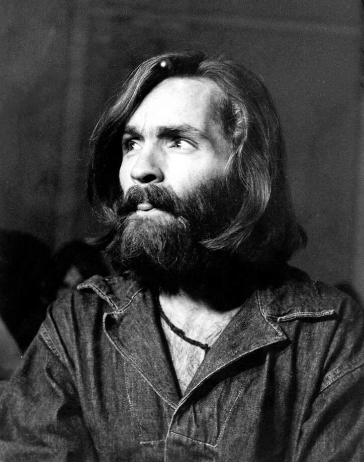 Charles Manson in a portrait taken in 1970. In April of 1971, he was sentenced to death for his role in the Tate-LaBianca murders. The next year, the sentence was changed to life in prison after the death penalty was abolished in California. Photo: Michael Ochs Archives