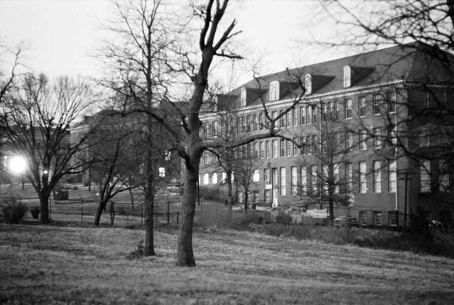 Exterior view of the National Training School For Boys in Washington DC, a juvenile correctional facility. As a child, Manson spent some time there in the early 1950s for taking a stolen car across state lines. Manson spent much of his youth in juvenile facilities, racking up a string of robberies, burglaries and other petty crimes. Photo: Charles H. Phillips/The LIFE Picture Collection/Getty Images