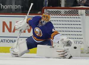 Veteran goalie Jaroslav Halak has joined the Sound Tigers after beginning the season with the Islanders.