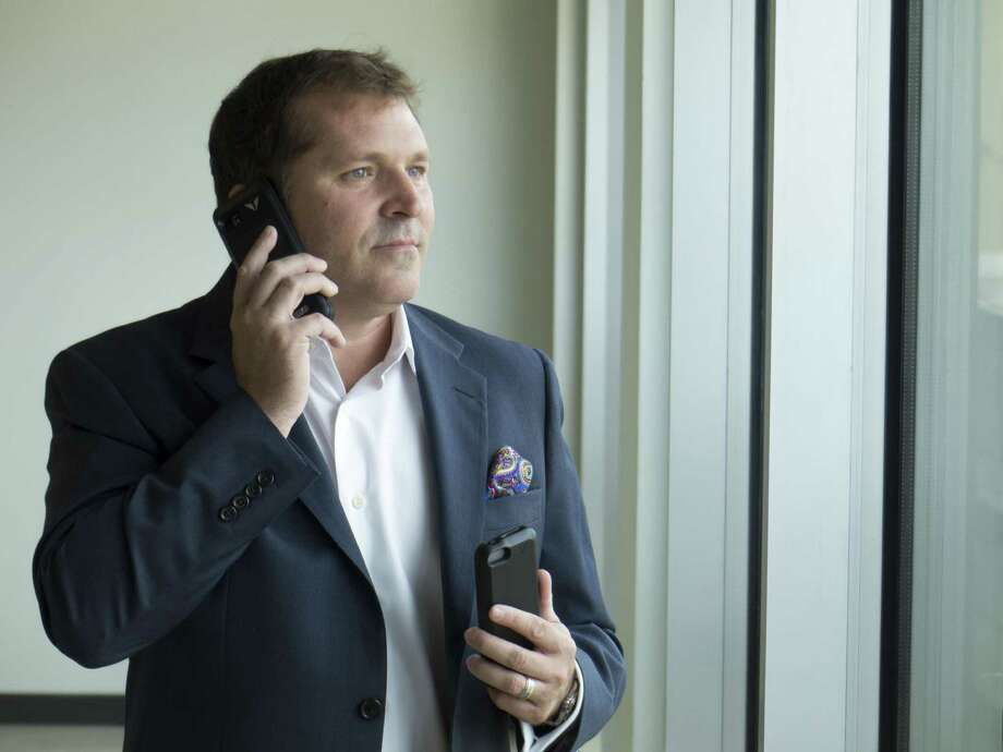 Victor Cocchia is CEO of San Antonio smartphone case maker Vysk Communications Inc. A judge recently ruled that a local investment firm can recover about $367,000 from Vysk. Photo: San Antonio Express-News /File Photo / San Antonio Express-News