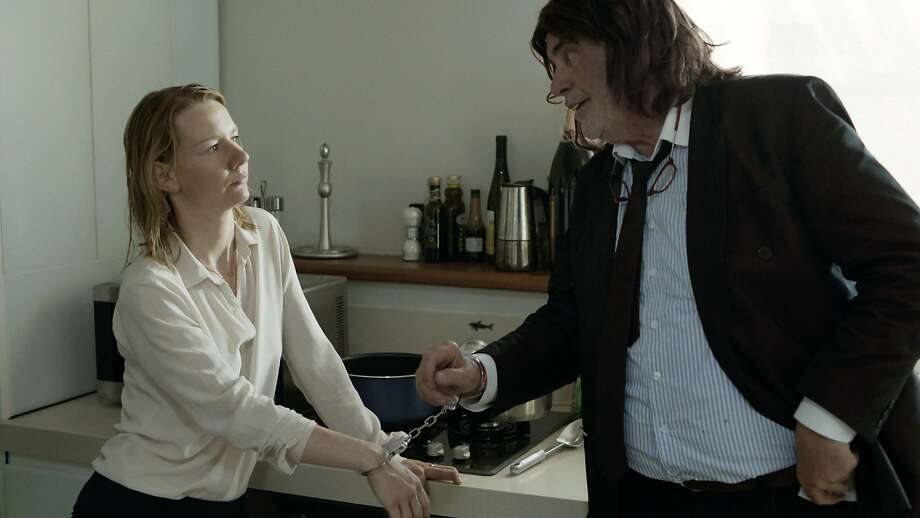 "Sandra Huller plays Ines (left) and Peter Simonischek plays Winfried in ""Toni Erdmann."" Photo: Komplizen Film, Associated Press"