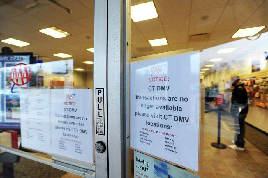 The Stamford AAA office in Stamford, Conn. on Tuesday, Jan. 3, 2017. AAA locations in Fairfield County no longer offer DMV services like license renewal. Photo: Michael Cummo / Hearst Connecticut Media / Stamford Advocate