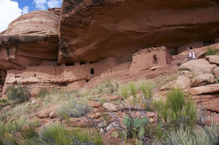 Moon House, in southeast Utah, is within the Bears Ears National Monument, one of two designated by President Obama in the rugged areas of Utah and Nevada. Photo: Brad Branan, TNS