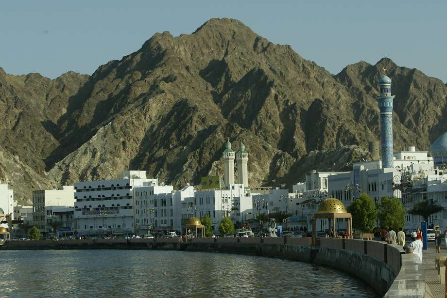 The harborfront district of Muttrah, part of the capital city of Muscat, Oman. Photo: Spud Hilton, The Chronicle