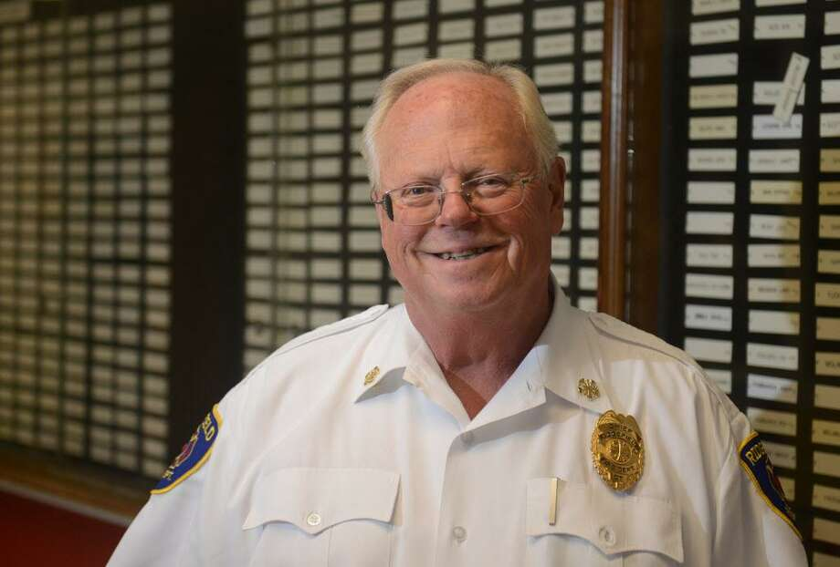 Ridgefield officials have completed an investigation into Fire Chief Kevin Tappe's possible violation of town policy and may discuss the results at Wednesday's special meeeting. Photo: Hearst Connecticut Media File Photo / The News-Times