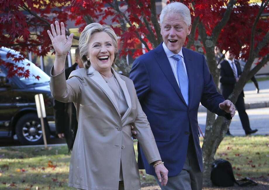 President Bill Clinton and former Democratic nominee Hillary Clinton are scheduled to appear at The Pavillion at Irving Music Factory on Nov. 17, 2017, according to Ticketmaster.See Hillary Clinton through the years.  Photo: Seth Wenig, Associated Press