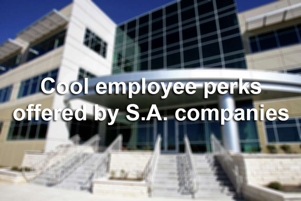 Some San Antonio businesses are finding that fully paid health insurance and a generous 401(k) plan are not enough to attract and retain top talent in today's tight labor market.Here are cool employee perks offered by San Antonio companies.