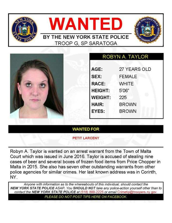 Warrant Wednesday: Saratoga County woman amid State Police targets