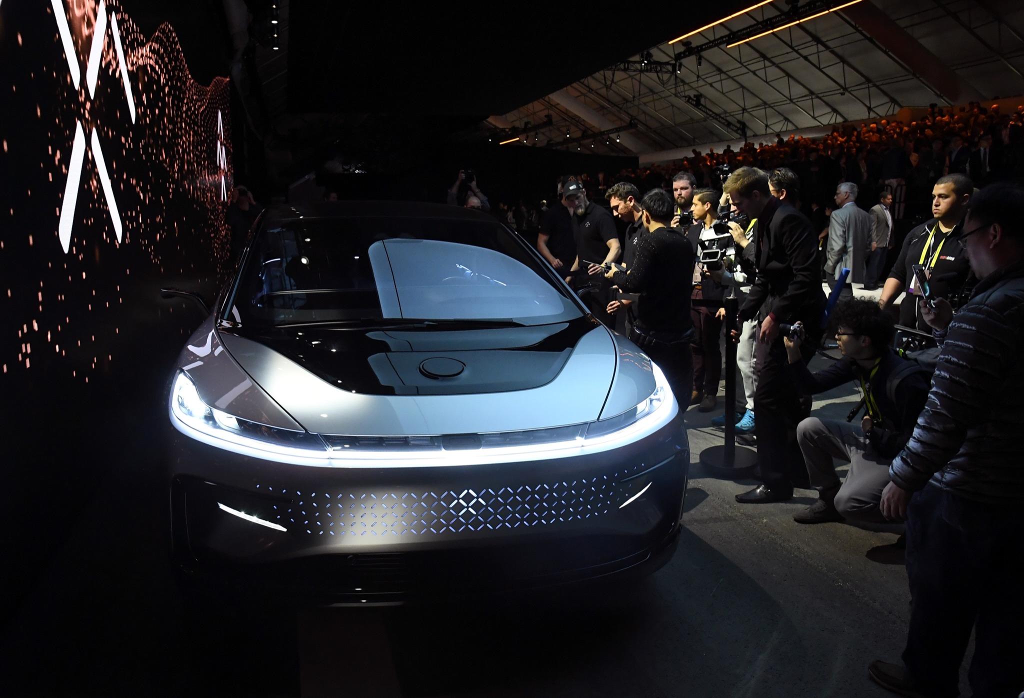 Faraday Future claims Tesla-beating supercar - SFGate