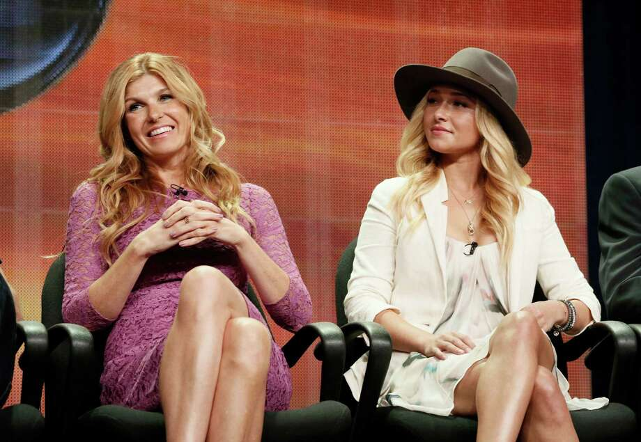 "Cancelled by ABC after four seasons, ""Nashville,"" starring Connie Britton, left, and Hayden Panettiere, makes its premiere on CMT. Photo: Todd Williamson, INVL / Invision"