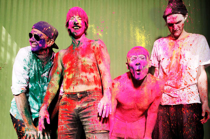 Red Hot Chili Peppers, from left, Chad Smith, Anthony Kiedis, Flea, Josh Klinghoffer