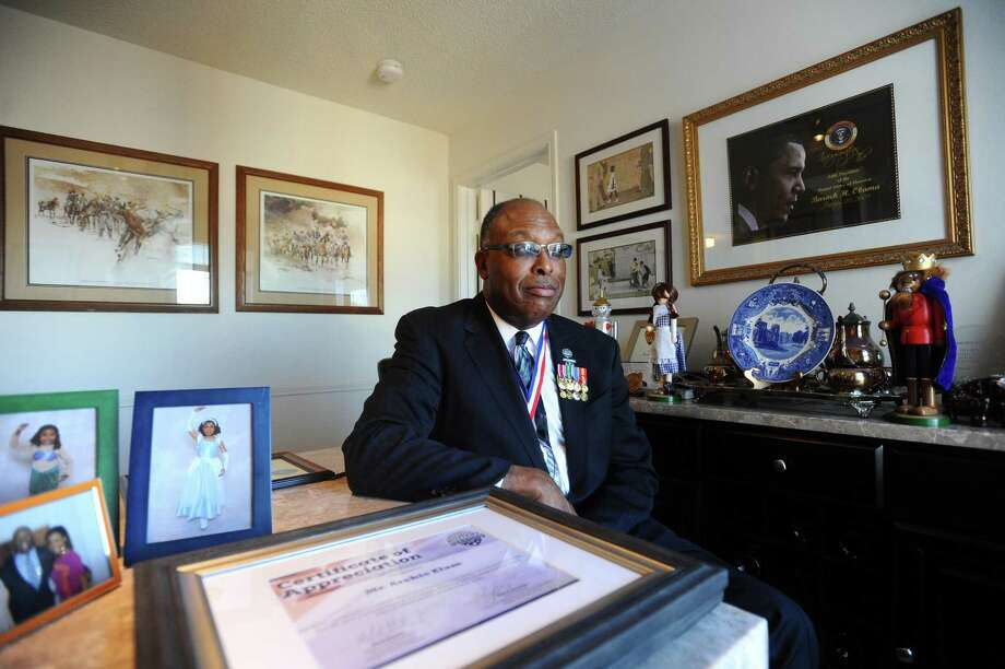 Archie Elam, a U.S. Army veteran and business executive, poses for a photo inside his home on Glenbrook Rd. in Stamford, Conn. on Tuesday, Dec. 20, 2016. Photo: Michael Cummo / Hearst Connecticut Media / Stamford Advocate