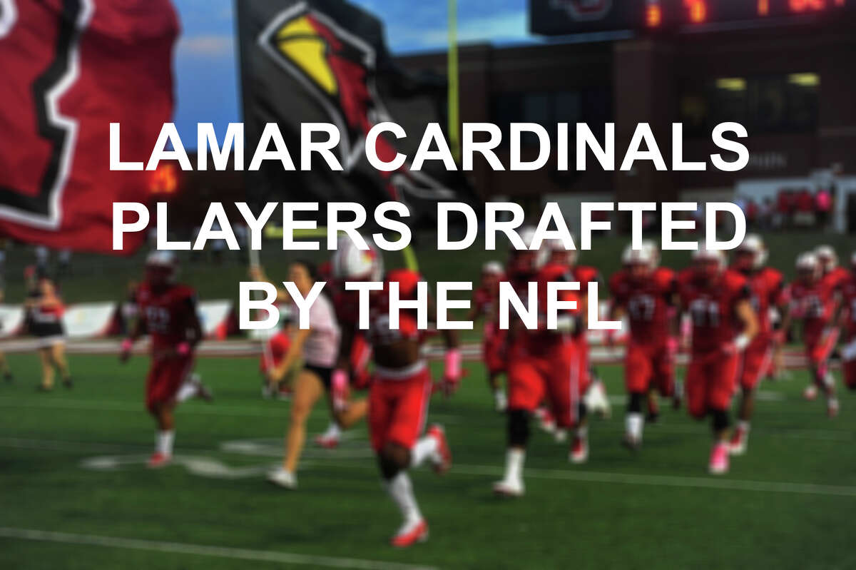 See the Lamar Cardinals football players drafted by the NFL through the years.