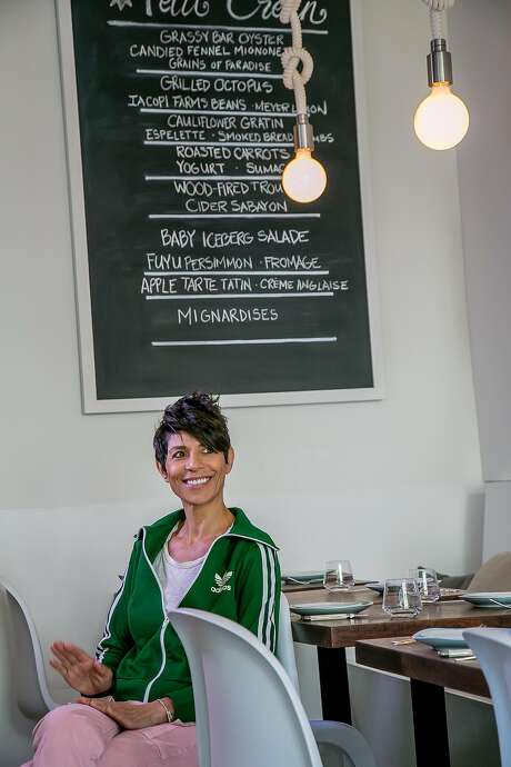 Chef Dominique Crenn at Petit Crenn in San Francisco, Calif. is seen on Saturday, October 3rd, 2015. Photo: John Storey, Special To The Chronicle