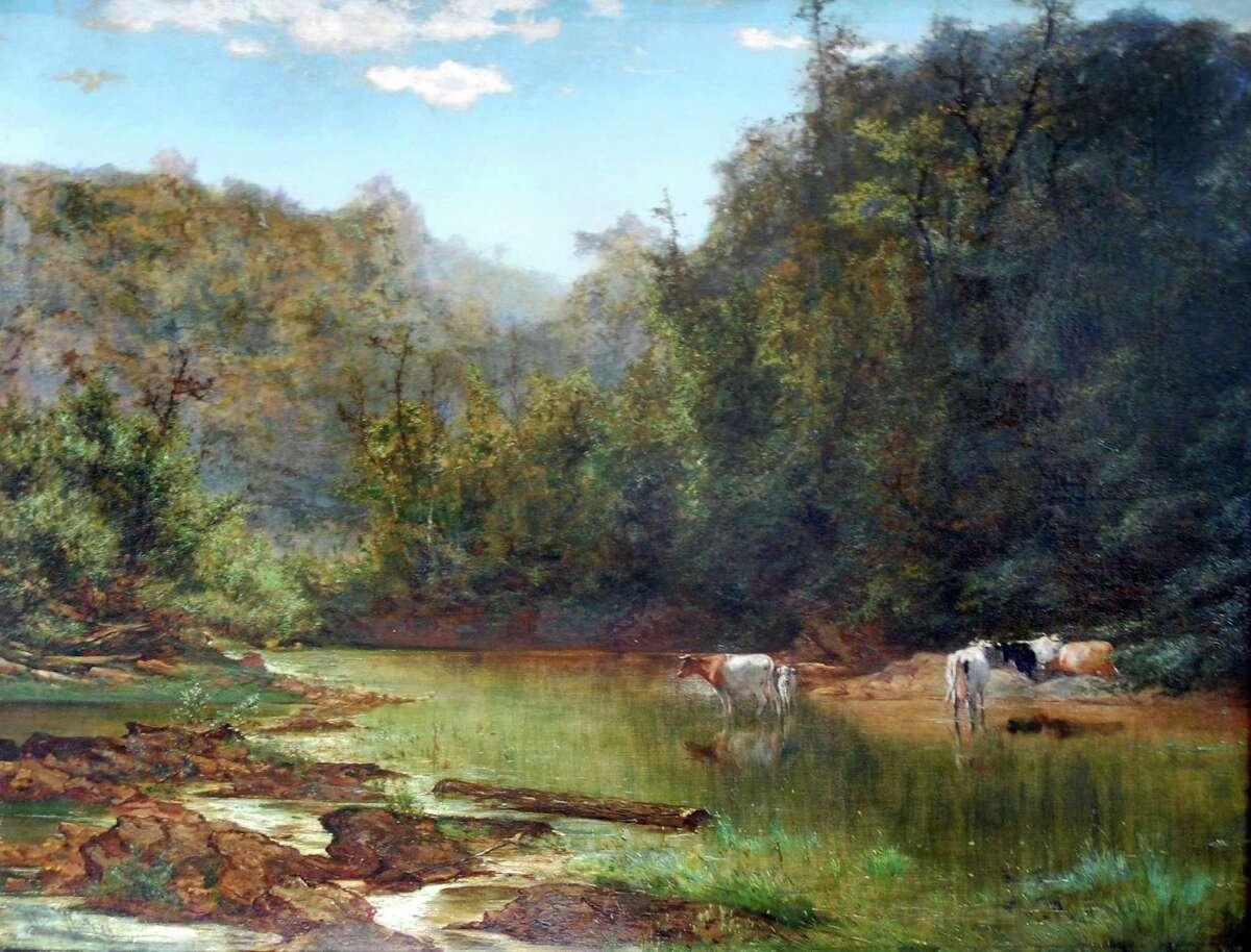"""Midsummer, Montclair, NJ,"" circa 1873, by Alexander Wust"