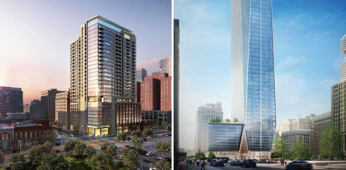 PHOTOS: High-rises coming to Houston Houston has a host of new high-rises under construction and planned for 2017. Click through to see which high-rises are set to be completed in 2017.