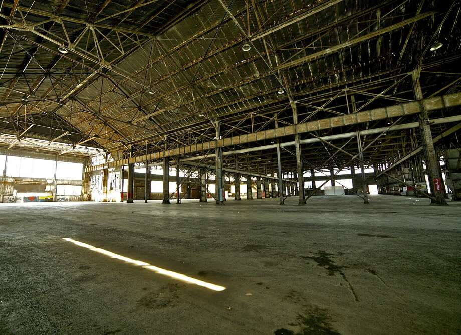 Pier 70 will be outfitted as the site of the S.F. edition of Untitled, Art. Photo: Courtesy Pier 70 Partners