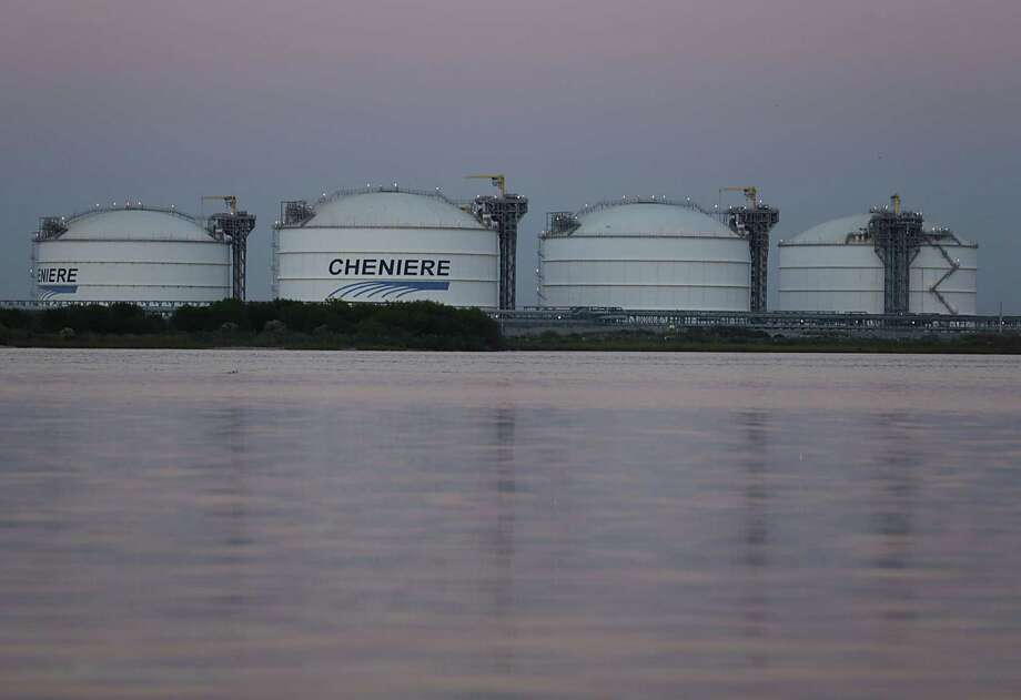 At least 10 of the 12 tankers bearing liquefied natural gas that left Cheniere Energy Inc.'s Sabine Pass terminal in Louisiana in December are headed for Asian countries, shipping data compiled by Bloomberg show. Photo: James Nielsen /Houston Chronicle / © 2016  Houston Chronicle
