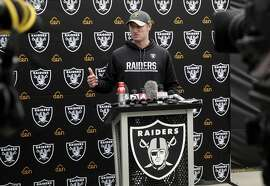 Oakland Raiders' Connor Cook is announced as the starting quarterback in their playoff game against the Houston Texans this Saturday, during a press conference at Raider headquarters in Alameda, California, on Wednesday January 4, 2017.