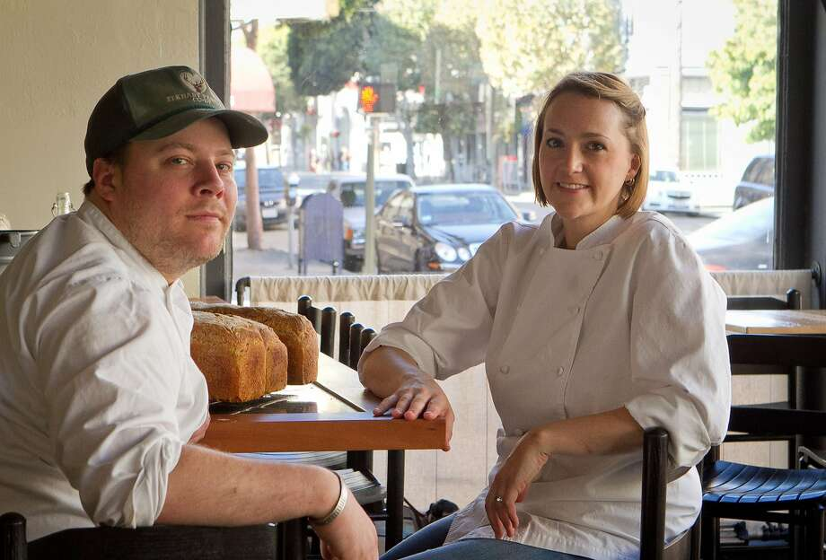 Evan and Sarah Rich at Rich Table in San Francisco are seen on Wednesday, September 19th, 2012. Photo: John Storey