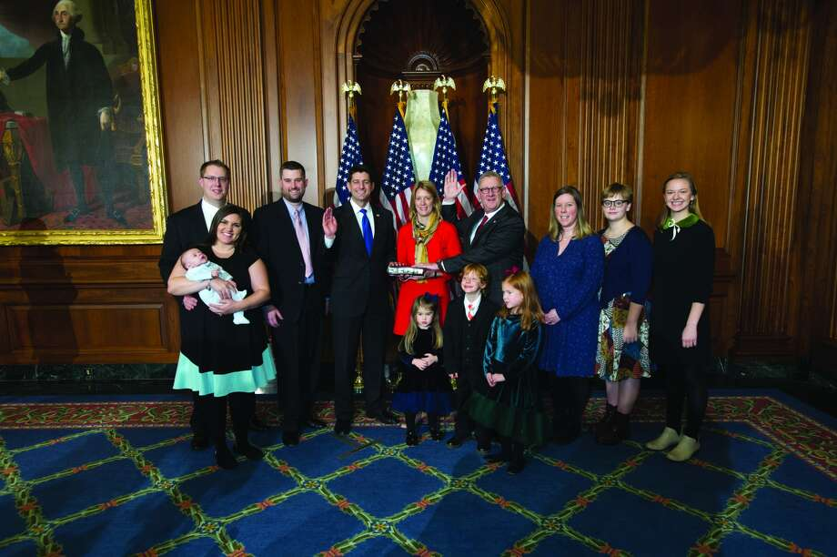 U.S. Rep. Paul Mitchell, R-Dryden, was sworn in to the 115th Congress as Representative of Michigan's 10th Congressional District. (Submitted Photo)