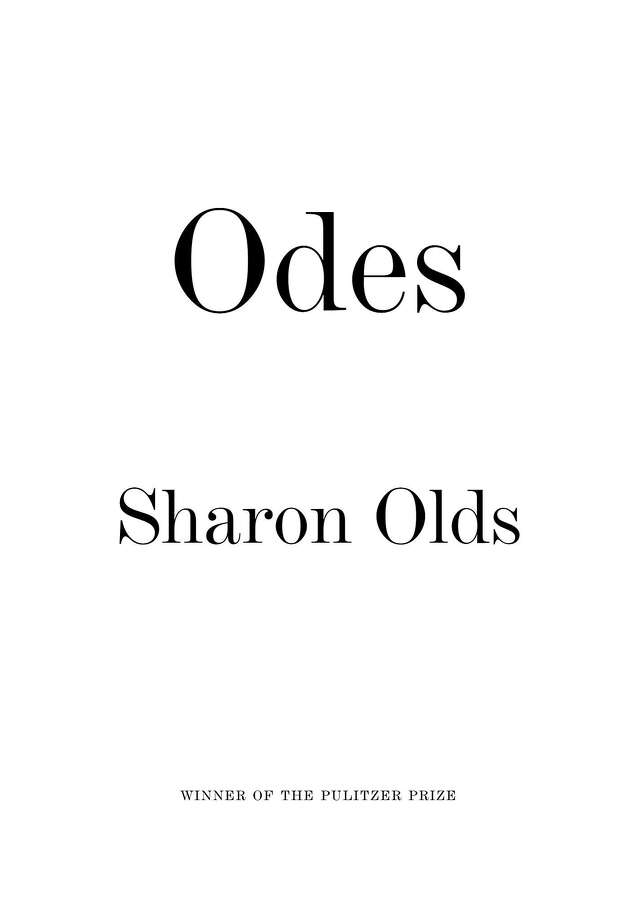 """Odes"" Photo: Knopf"