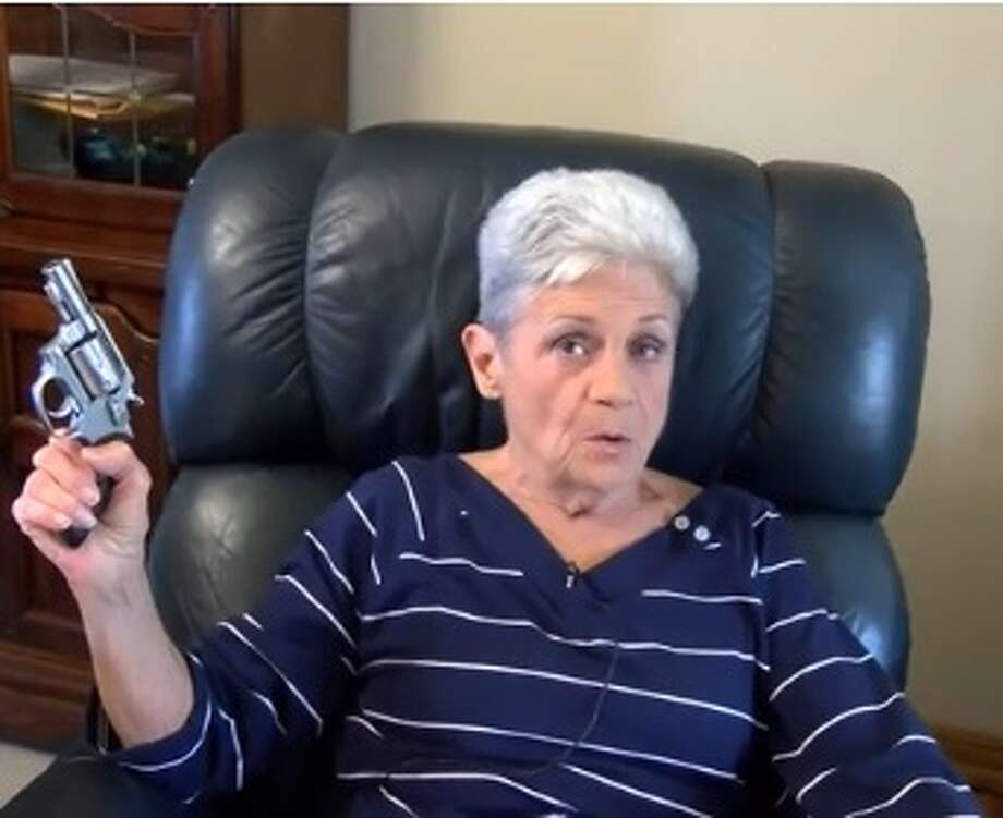 Rebbie Roberson, 74, of Bowie County, Texas told news station KSLA that she shot at a masked intruder who broke into her home. Roberson said she's unsure if she hit the intruder.Click through the slideshow to see how gun laws in Texas have changed.  Photo: Gopher