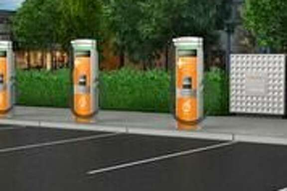 ChargePoint's new charging stations are designed to provide fast charging to today's electric cars, and tomorrow's as well, even as battery packs improve.