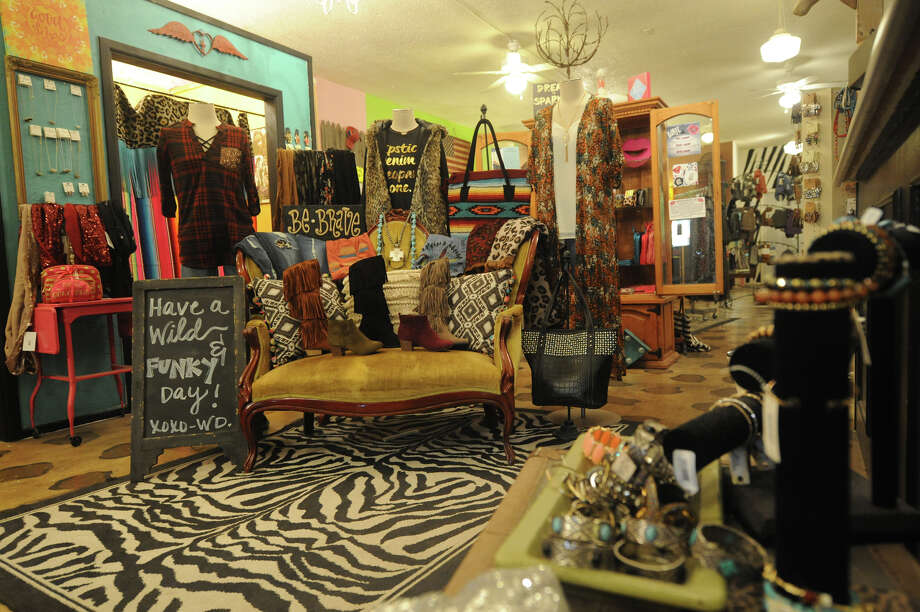 Popular jeans and shirts, along with new boot offerings, on display Wednesday, Jan. 4, 2017, at Wild Designs Boutique. Through Saturday, most items are discounted 40%. James Durbin/Reporter-Telegram Photo: James Durbin