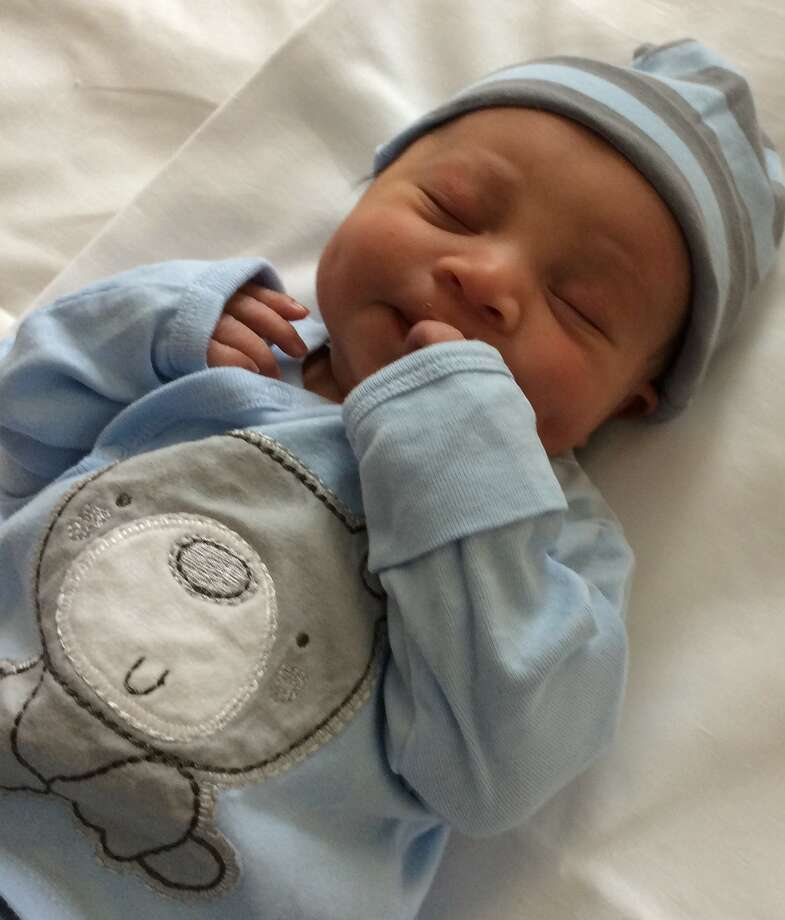 Cameron Jozwiak, the first baby born in 2017 at Saratoga Hospital. (Photo submitted by Saratoga Hospital)