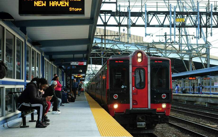 """Metro-North says passengers should anticipate delays in both directions on the New Haven and Harlem lines on Thursday, Jan. 5, 2017. It says the reason for the delays is because of a """"track condition requiring attention in the vicinity of Fordman"""" in New York. Photo: Christian Abraham / Hearst Connecticut Media / Connecticut Post"""