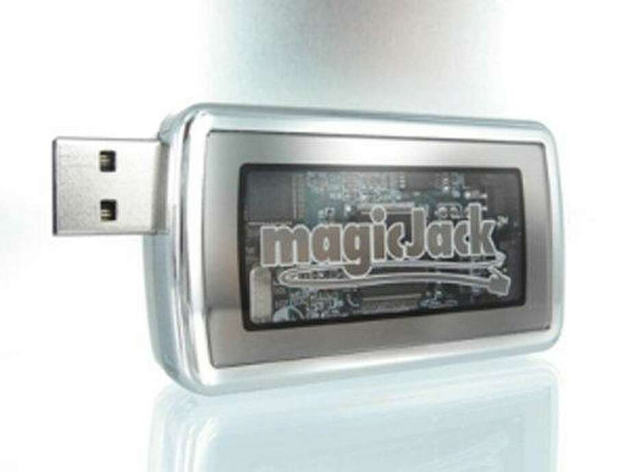 San Antonio-based Carnegie Technologies Holdings wants to acquire magicJack VocalTec, an Israeli company that invented magicJack, a small device that provides users free phone service through the internet. Photo: Courtesy Photo / THE WASHINGTON POST