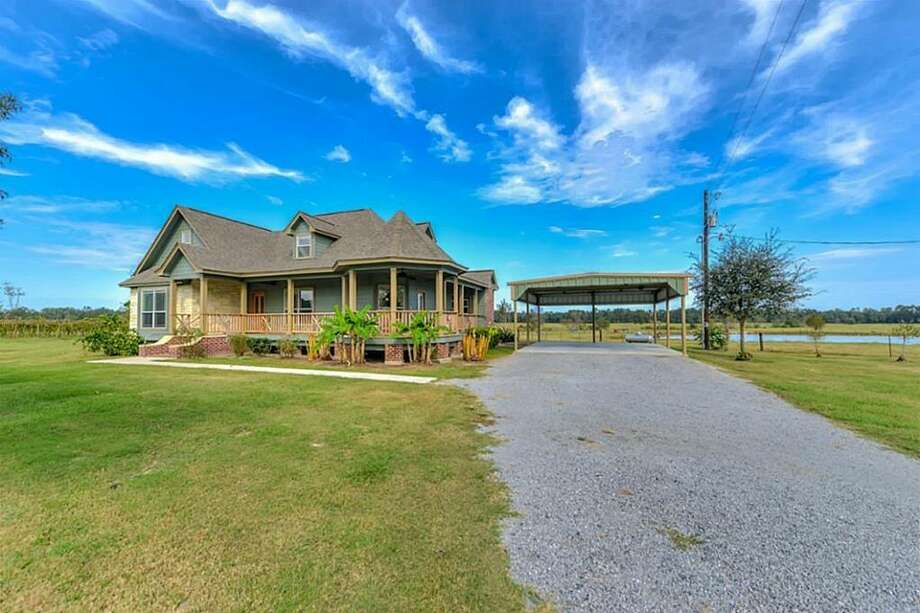 477 FM 82 E., Call, Texas 75933 $1,200,000 3 bedrooms; 2 bathrooms. 201 acres.  More info here. Photo: Realtor.com