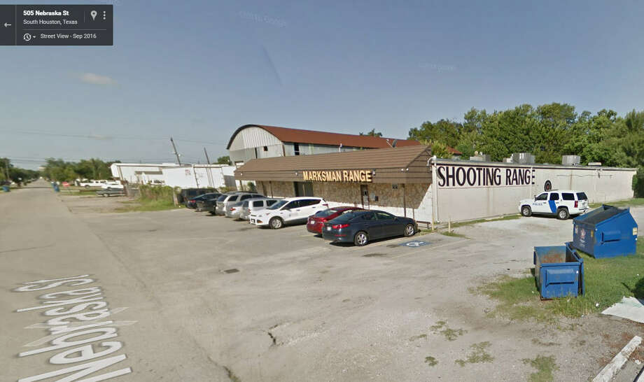 Marksman Indoor Range in South Houston, where thieves got away with guns and rifles early Thursday, Jan. 5, 2017. (Google Street View)SLIDESHOW: See how many weapons were reported stolen in several categories.