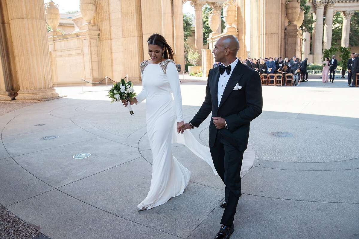 Andrea McBride and Fabian John were married in June at San Francisco�s Palace of Fine Arts. The reception was held at Sens restaurant.