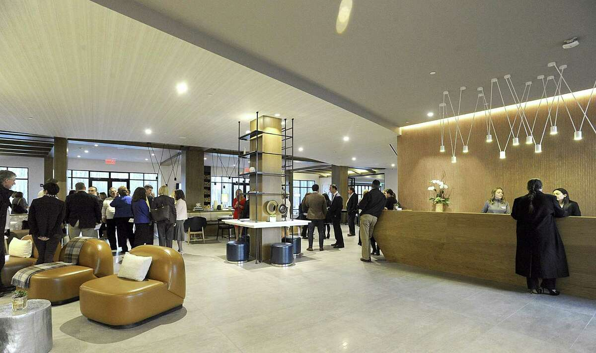 Hotel Zero Degrees, a new luxury hotel on Milestone Road in Danbury, held an opening reception and ribbon-cutting Wednesday, Nov. 17, 2016.