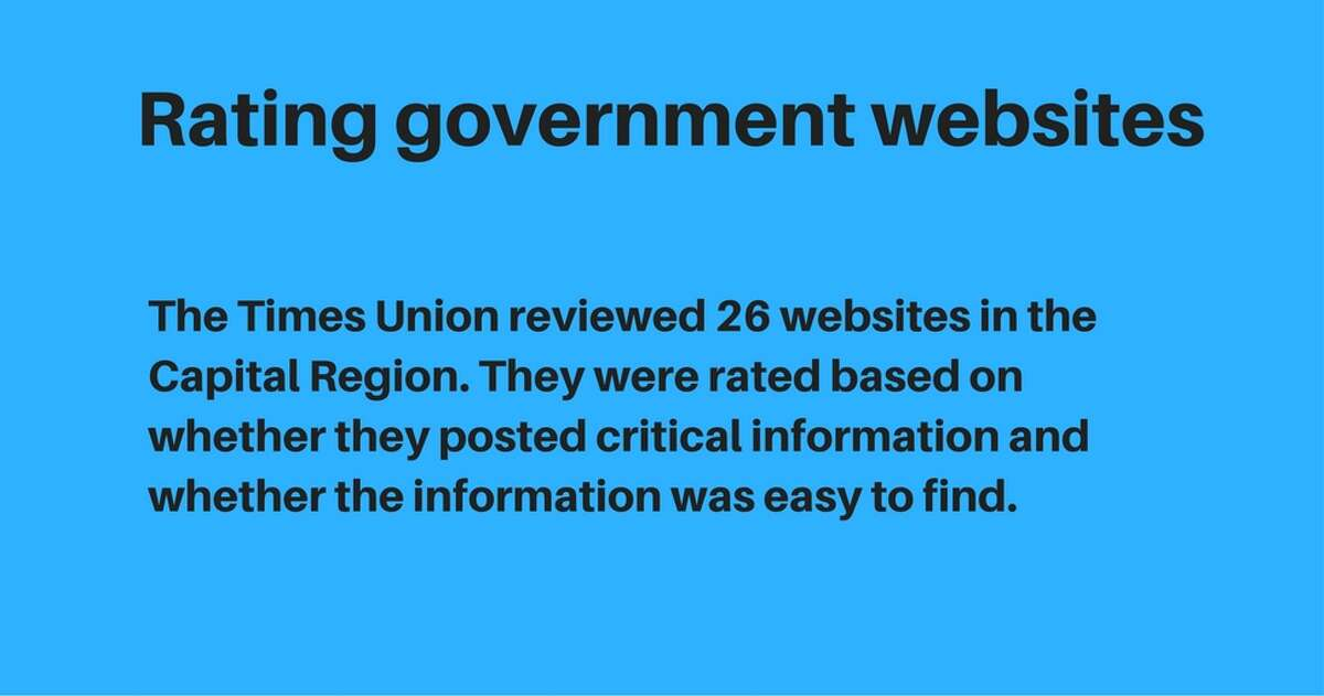 The Times Union review of government websites.