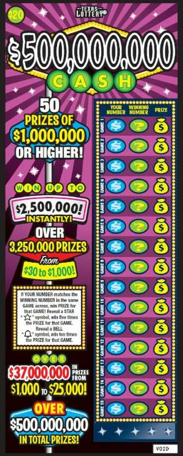 Photo: Courtesy: Texas Lottery Commission