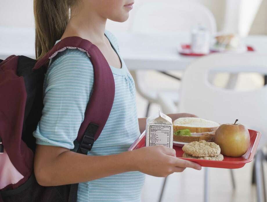 At one San Antonio elementary school, lessons of healthy eating are incorporated throughout the day. Photo: Getty Images / This content is subject to copyright.