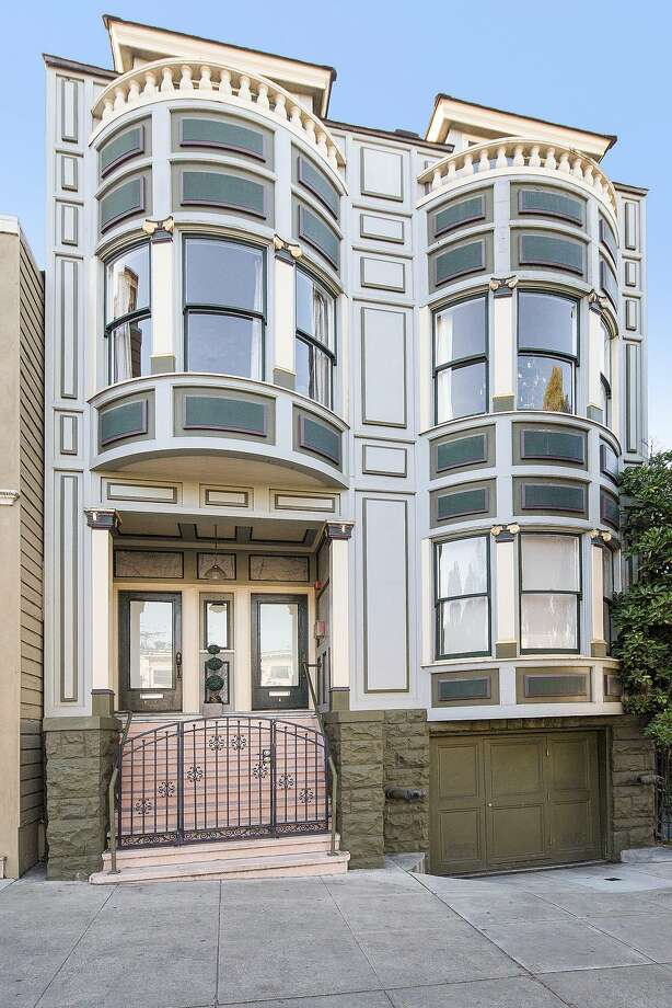 1121 Masonic Ave., Unit C, occupies the top floor of this stylishly appointed Edwardian. Photo: Open Homes Photography