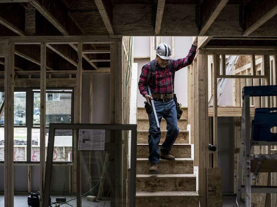 Housing starts were one factor that helped boost Comerica Bank's Texas Economic Activity Index for November. Photo: Matthew Busch /For The San Antonio Express-News / © Matthew Busch