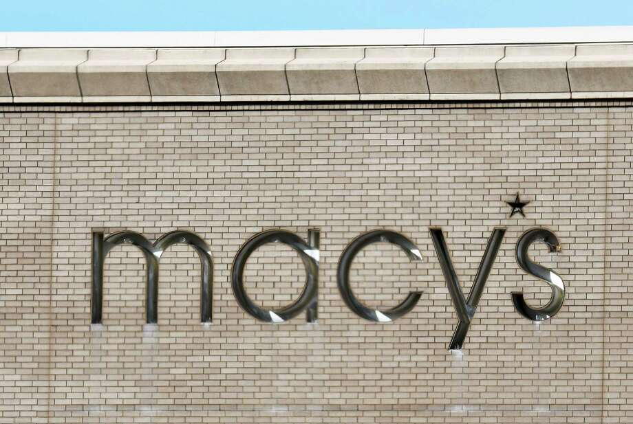 Macy's logo above their Colonie Center store Thursday Jan. 5, 2017 in Colonie, NY.  (John Carl D'Annibale / Times Union) Photo: John Carl D'Annibale / 20039327A