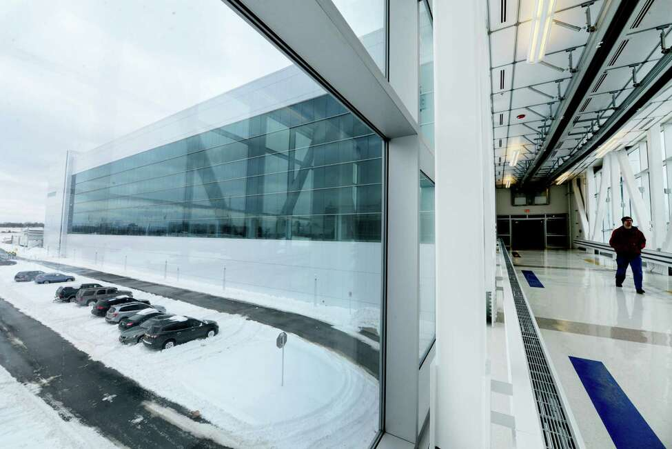 NanoFab X building at Albany NanoTech where a new $200 million lithography tool purchased by IBM from ASML is housed Friday, Feb. 14, 2014, in Albany N.Y. (Will Waldron/Times Union)
