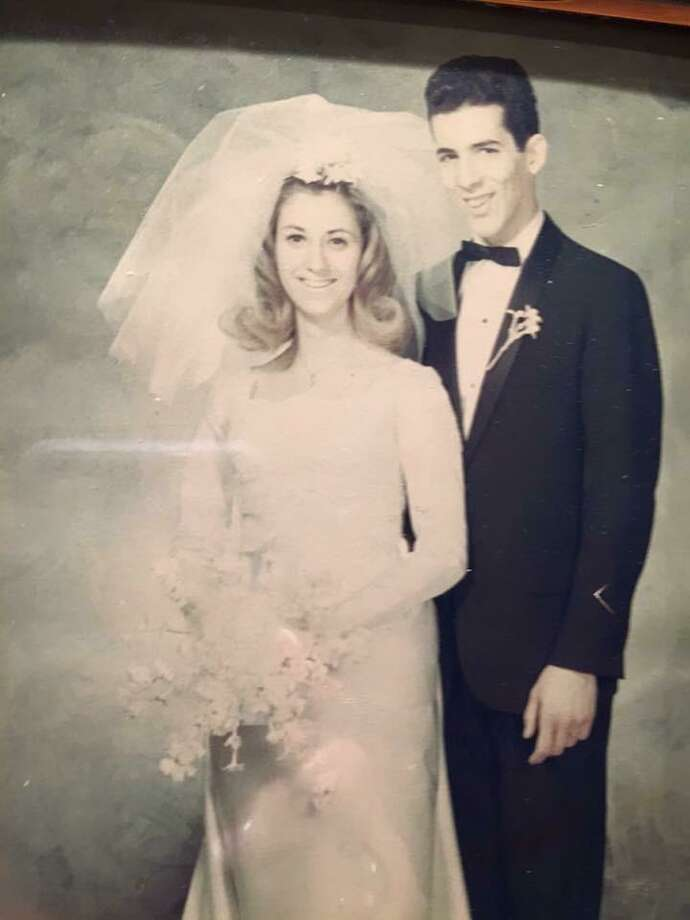 Richard Granelli and Sandra Garaffa were married Jan. 7, 1967 at Sacred Heart Church. Photo: Contributed Photo
