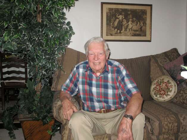 Walter Ericsson, 91, of Darien will serve as the Grand Marshall for the Town's Memorial Day Parade on Monday. Photo: Maggie Gordon / Darien News