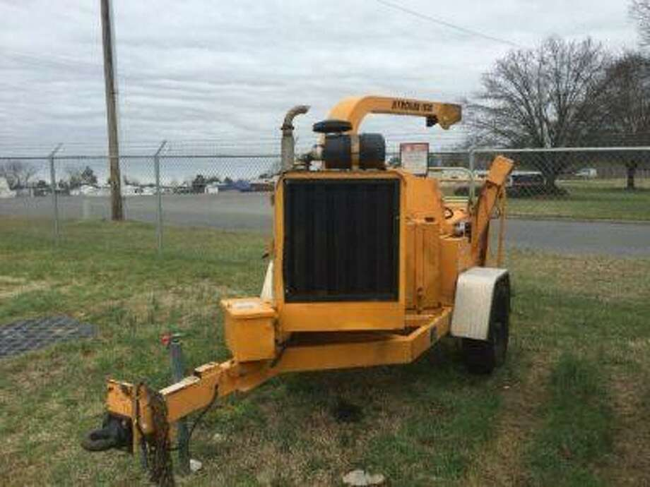 State Police are investigating the theft of a woodchipper, an older John Deere tractor and movers from a storage garage at Matthies Park in Beacon Falls on Wednesday, Jan. 4, 2017. Photo: /