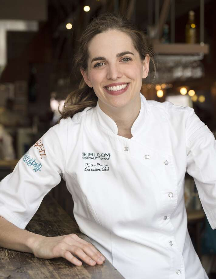"Chef Katie Button will cook with Underbelly chef Chris Shepherd at a special Spanish dinner at Underbelly on Jan. 16. She is the chef of Curate restaurant in Asheville, NC, and the author of ""Curate: Authentic Spanish Food from an American Kitchen."""