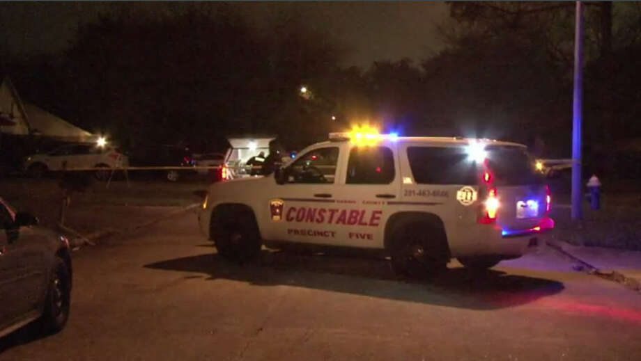 Police investigate after a man allegedly stabbed his wife to death in the Katy area Thursday, Jan. 5, 2017. (Metro Video) Photo: Metro Video