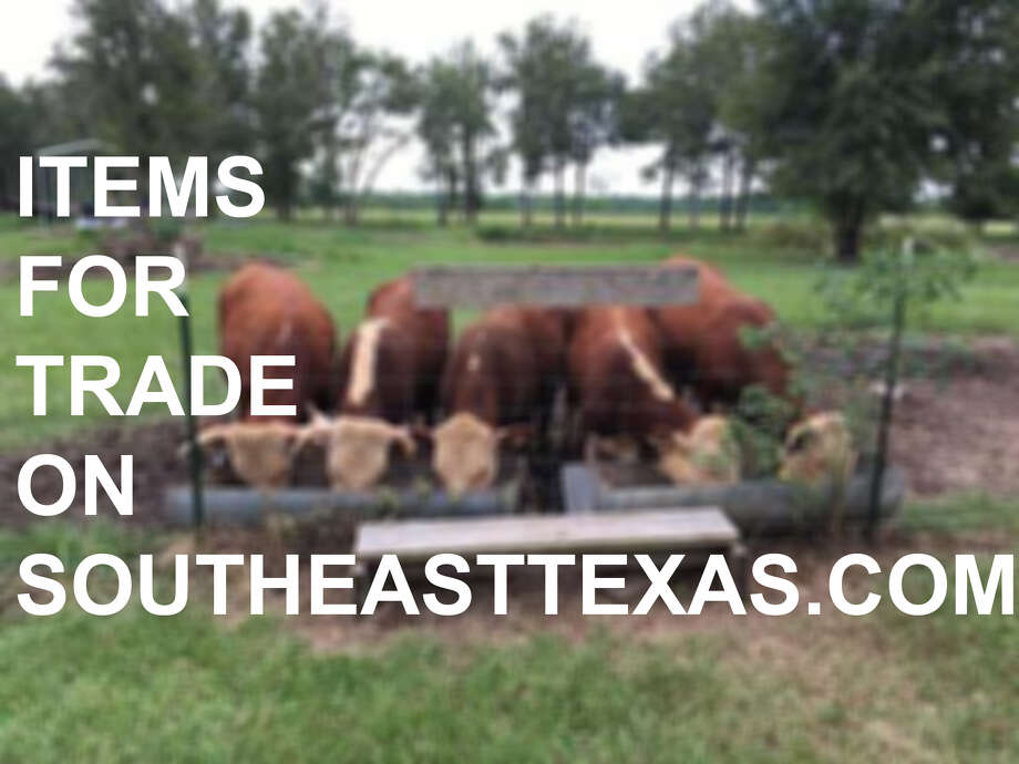 Keep clicking to see some of the trade deals you can strike with fellow Southeast Texans.